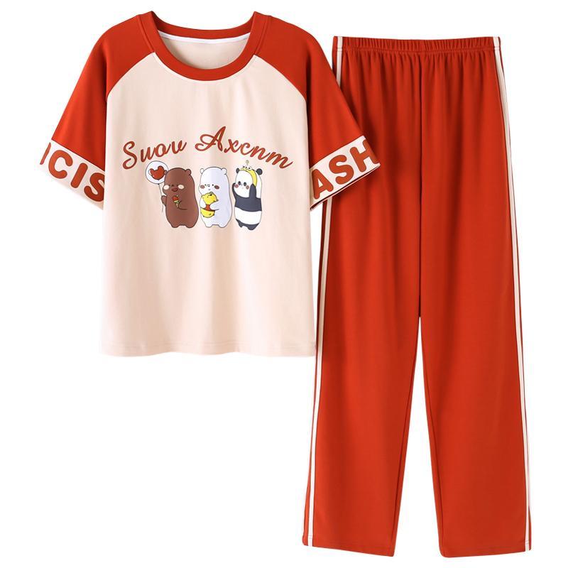 2xl Élégant Femmes Pyjama à manches courtes taille M...