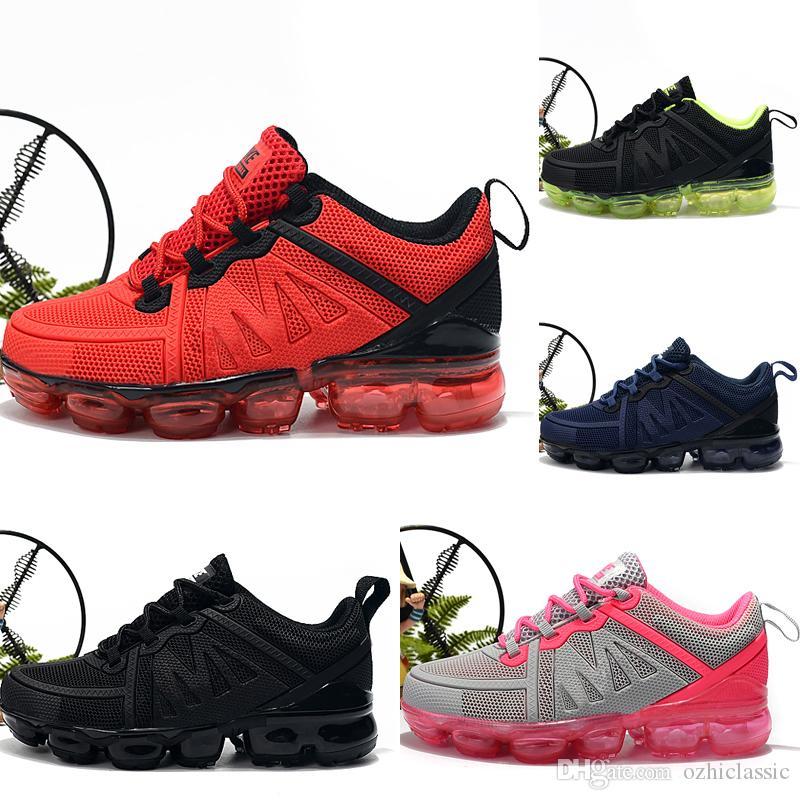 Nike air max 2019 bébé chaussures de designer pour enfants KPU enfants chaussures de course enfants 2018 coussin KPU chaussures de sport garçons formation filles Sneakers