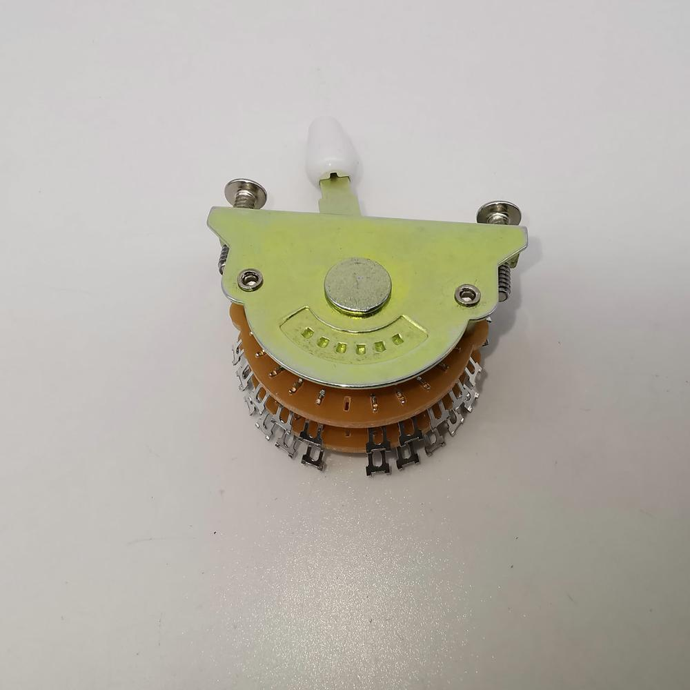 high quality Oak 5 Way Super Lever Guitar Switch For ST Double Pole CODE:UST5/2