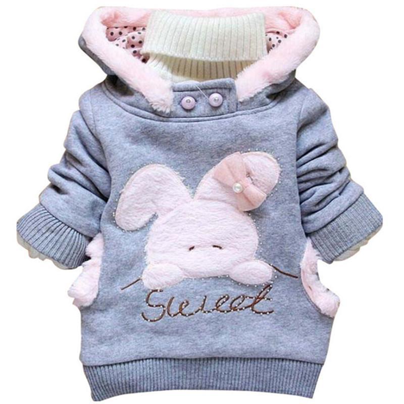 Для девочек Для мальчиков способа куртки хлопка одежды детей пальто Девочка зима теплая Повседневный Верхняя одежда для 1-5 лет дети куртки