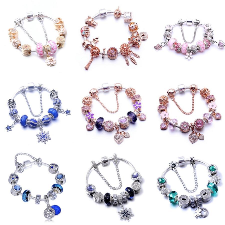 Go2Boho Summer Bracelets Crystal Beads Women Selife Letter Seashell Knotted Pulseras Mujer Shell Bracelet Jewelry Diy Wristband#897