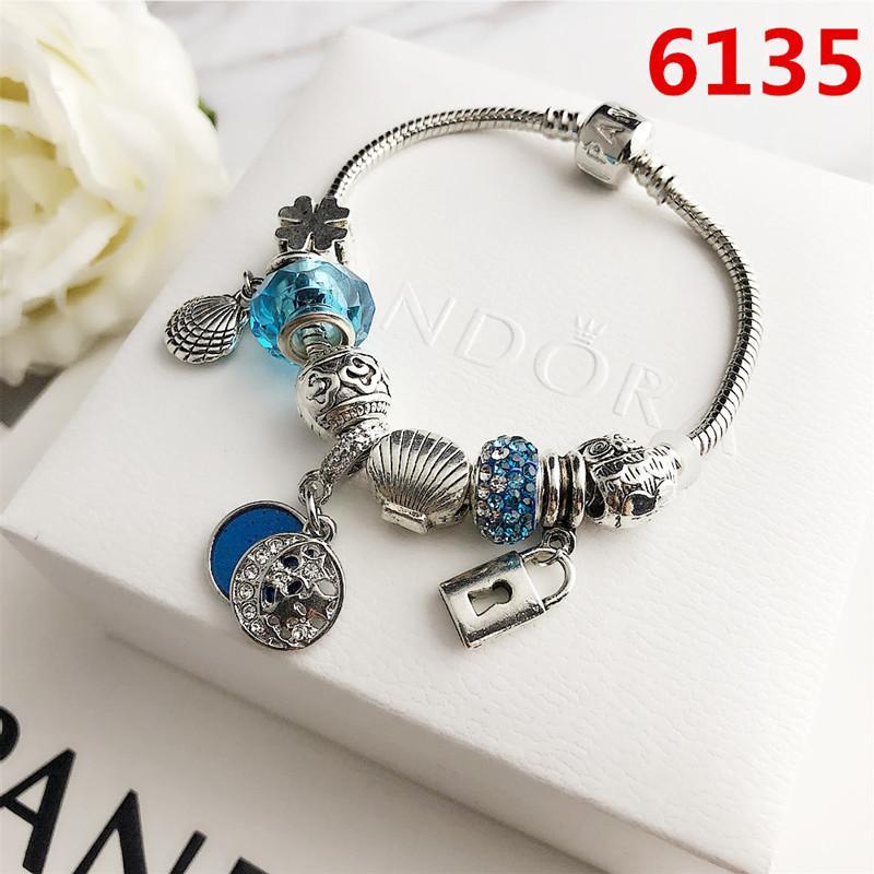 Nova marca de jóias Define Hot prata cristal cheio de diamante das mulheres pulseira da moda amantes Alloy Carta Charme Pulseiras do sexo feminino presente Personalidade