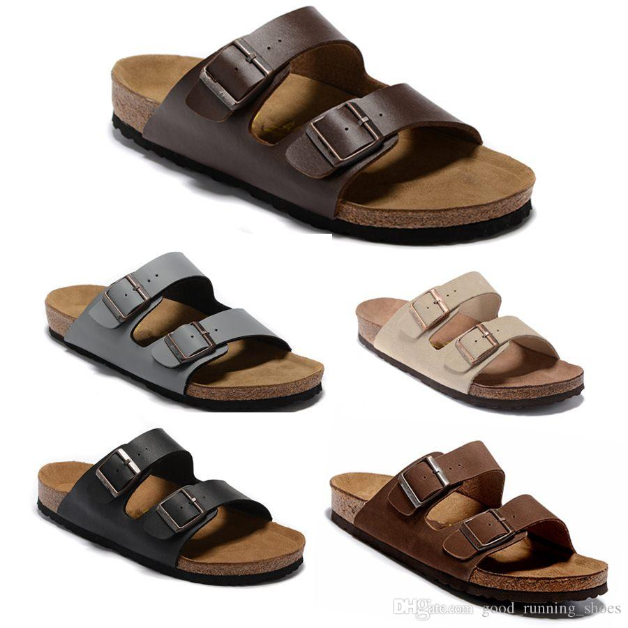 Arizona Gizeh FlipFlops caliente verano Hombres Mujeres sandalias plan Zapatillas de corcho unisexe zapatos casuales imprimir siz34-46