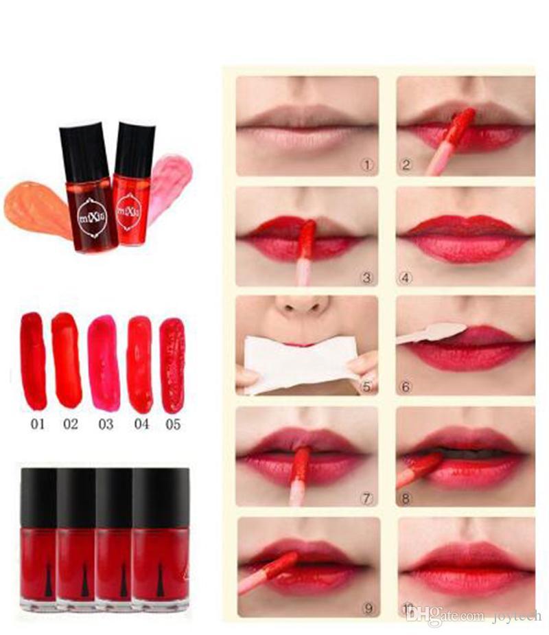 samll size Multifunction MIXIU Lip Tint Dyeing Liquid Lipgloss Blusher Waterproof Lip Gloss Makeup Beauty Cosmetics blush Lips lipstick