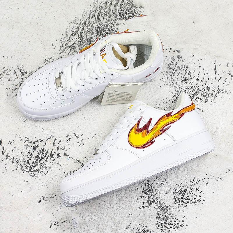2019 New Forced 1 Skateboard Shoes Play With Fire Chinese Characters Print Men Women Comfortable Outdoor Sneakers From Coolmax Shoes 75 64