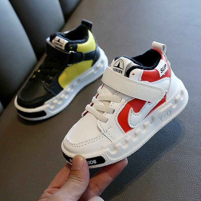 Enfant Chaussures Çocuk Ayakkabıları Nefes Rahat Alman Bambino Sneakers Erkek Kız Toddler Ayakkabı Çocuk 1-6 Yıl Kaykay Ayakkabı