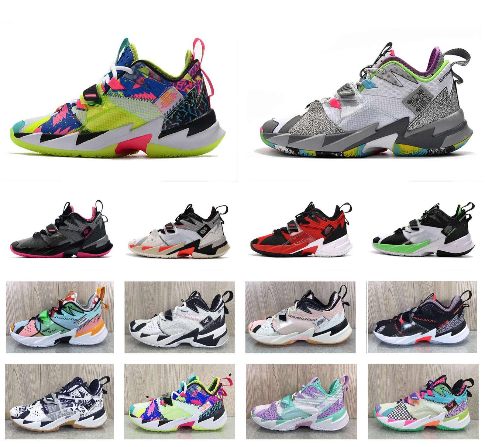 Новейшие 2020 Рассел, Почему Не Zer0.3 в III Уэстбрук 3 бренд всячески препятствовать хаосу, что Мичиган ноль.3 мужская Повседневная обувь US 7-12