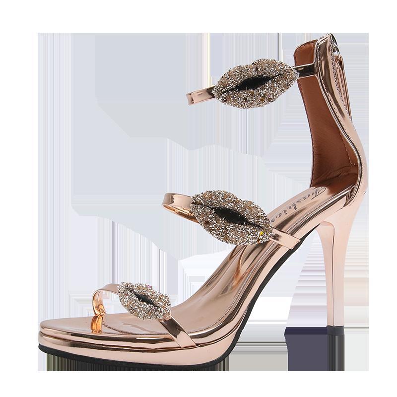2020 été chaussures à talons hauts de la cheville des femmes pour les femmes sexy peep toe de chaussures de mariage de partie de talons hauts femme