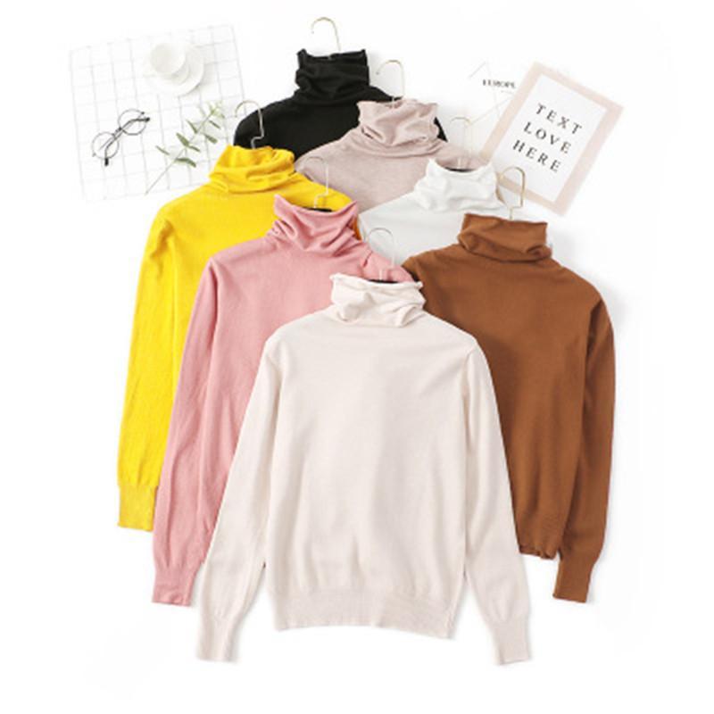 Fashion New Turtleneck Sweater Women Plus Size Sweater Female Loose Pullover Women Winter Jumper Woman Jumper Pull Femme