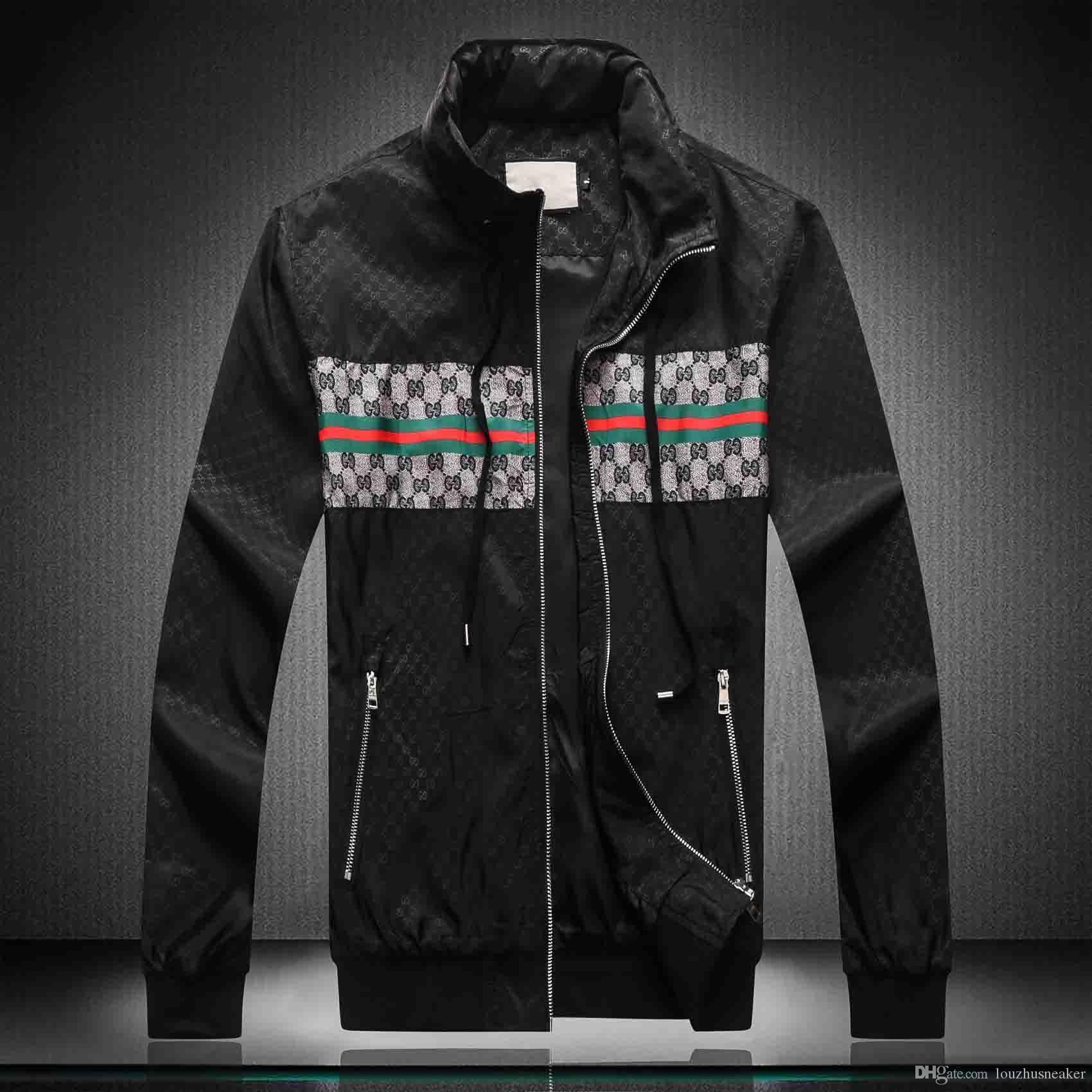 Nouveau luxe Veste Homme manches longues coupe-vent Windrunner Denim Jacket Men Veste à capuche Vêtements