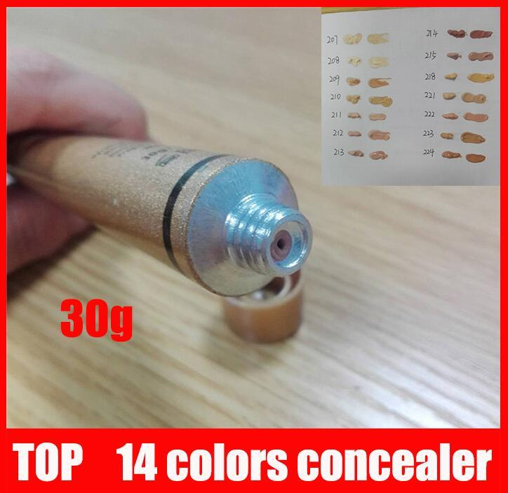 ship in 24hours New makeup Base Make up Cover Extreme Covering liquid Foundation Hypoallergenic Waterproof 30g Cheap Skin Concealer 14 color