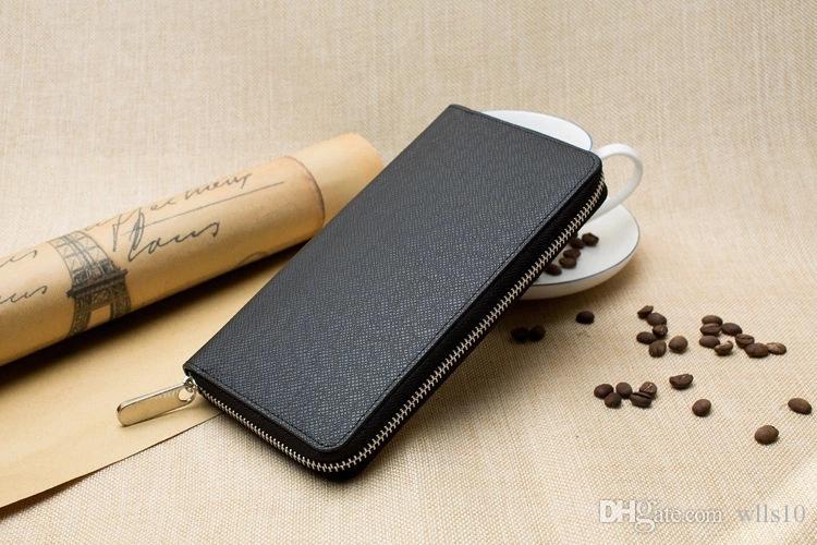 L212 مصمم حقائب مصمم محفظة فاخرة الفاصل النساء محافظ رجل محفظة مصمم محفظة حامل البطاقة جلد طبيعي مع صندوق m60017