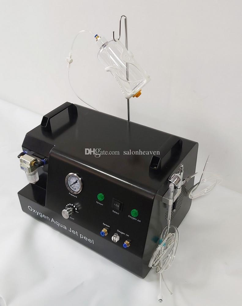 Máquina facial de alta presión de oxígeno de oxígeno Peel Facial Machine de oxígeno Facial Facial Cuidado de la piel Rejuvenecimiento