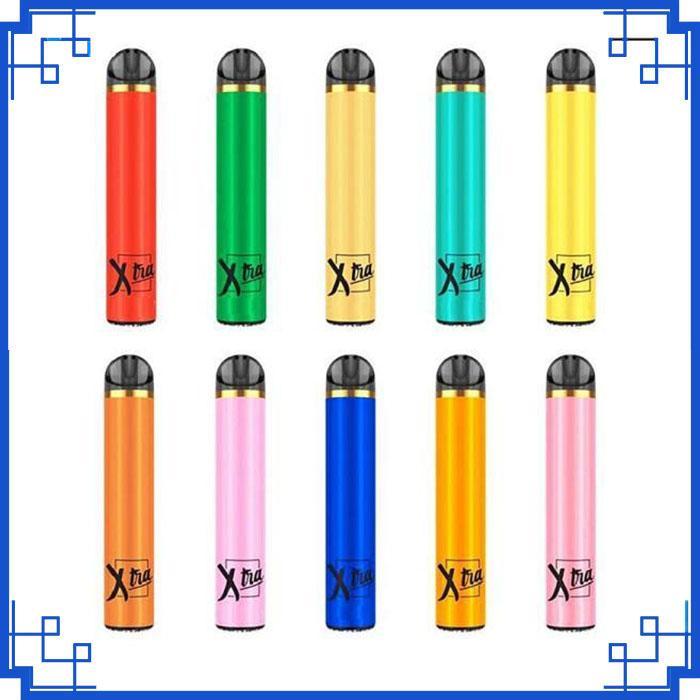 Yeni XTRA Tek Vape kalem 5ml Kartuşu 1500 puflar Başlangıç Kiti Cihaz Sistemi buharlaştırıcılar PK Myst tuz boşaltmak Artı