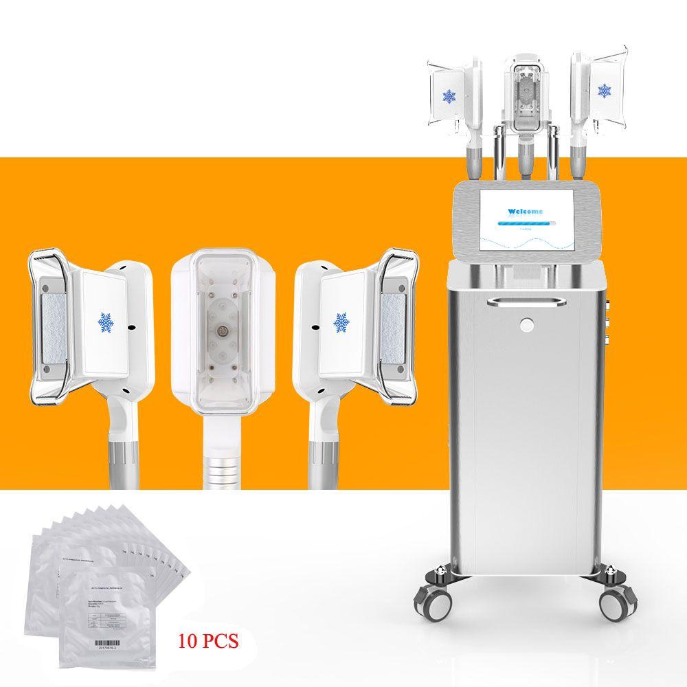 Salon Verwendung Kälte Vakuum Fat Einfrieren Abnehmen Cellulite entfernen Weight Loss Kühlkörperfett abnehmen Maschine