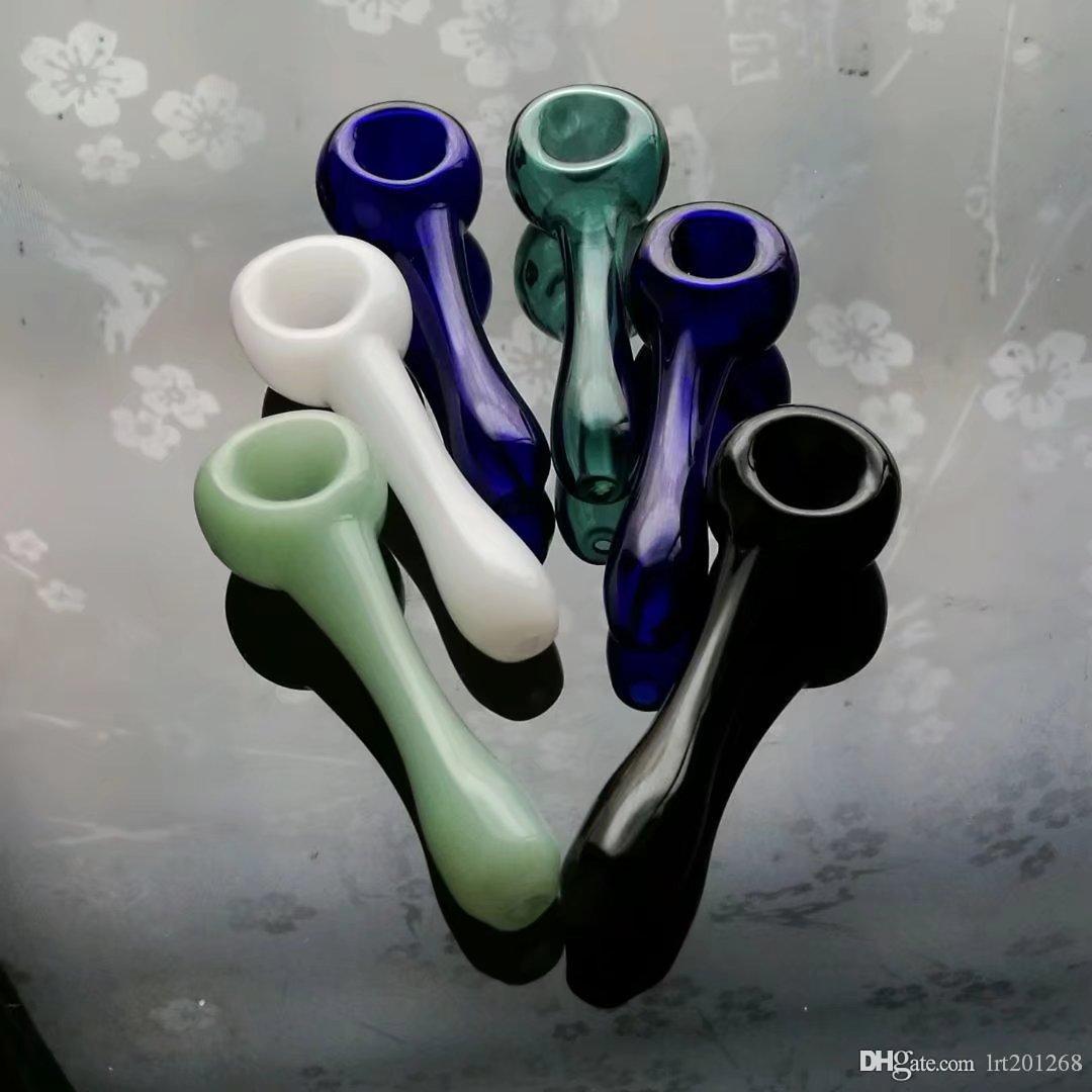 tubos coloridos, Tubos Atacado Bongs queimador de óleo de vidro tubulações de água Cachimbo de vidro plataformas petrolíferas fumadores frete grátis