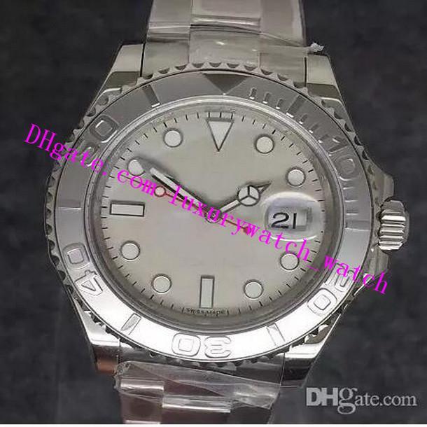 2 Style beste Qualität 904L Stahl 116622 40MM ETA 3135 Bewegung Blau Lumineszente Automatische Sapphire Sport-wasserdichte Uhren Herren-Uhren