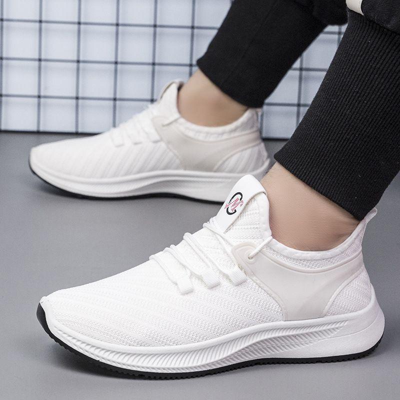 2020 Neue hochhackige Schuhe Sommer Turnschuhe Männer koreanischen Trend Herrenschuhe Sport Casual Atmungs Klassische Sportliche Laufschuhe