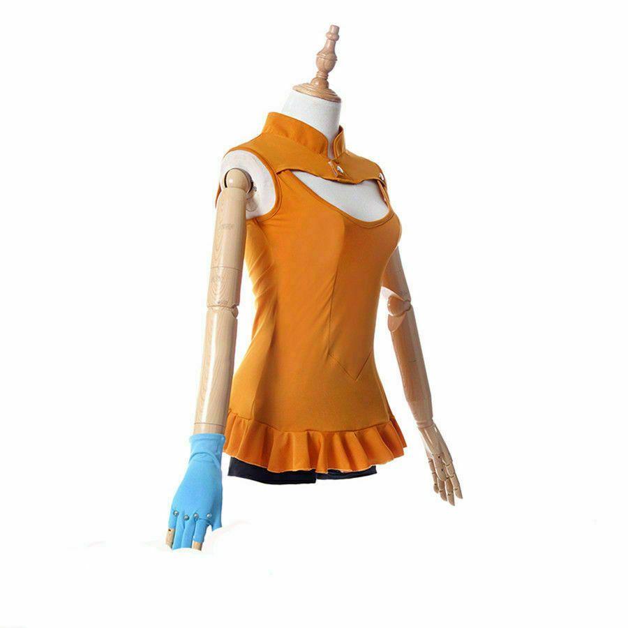 The Seven Deadly Sins Imashime no Fukkatsu Diane Top Shorts Cosplay Costume