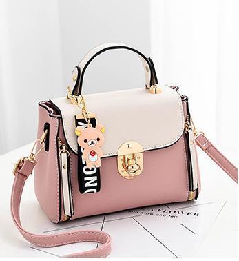 2020 Новая мода Малый квадрат сумки на ремне цепи Подвеска Diagonal PU женская сумка сумка