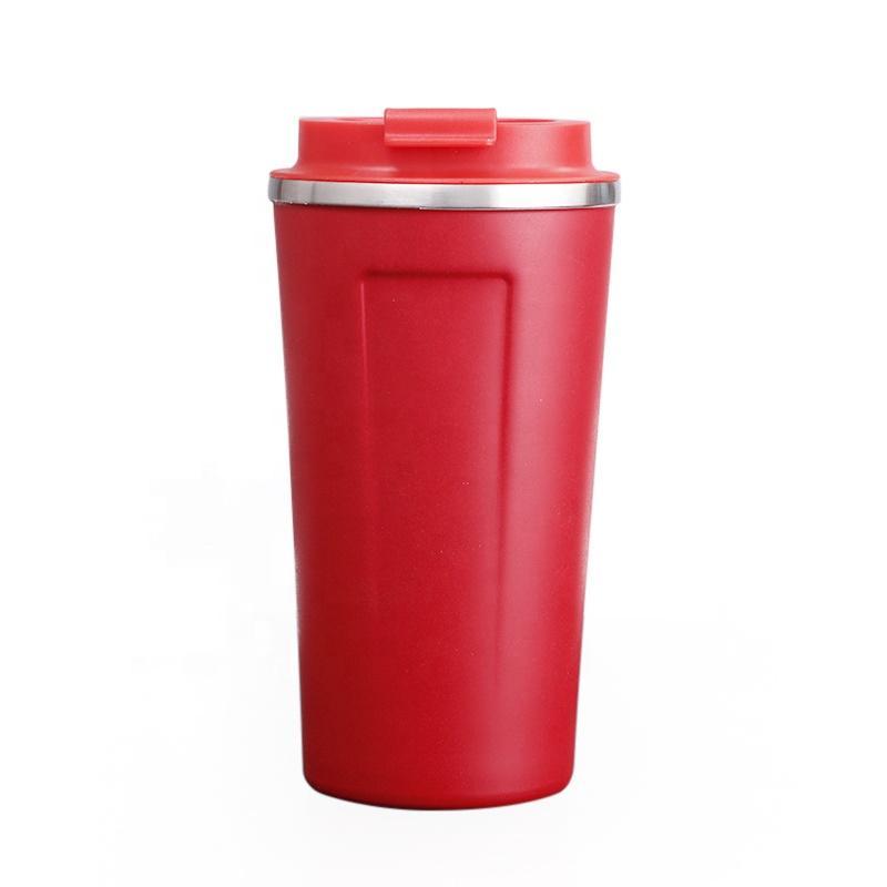 Кофе Compact с вакуумной изоляцией путешествия Кружка с разливами Proof Крышка 13 Унция Портативный непротекаемый кружкой кофе