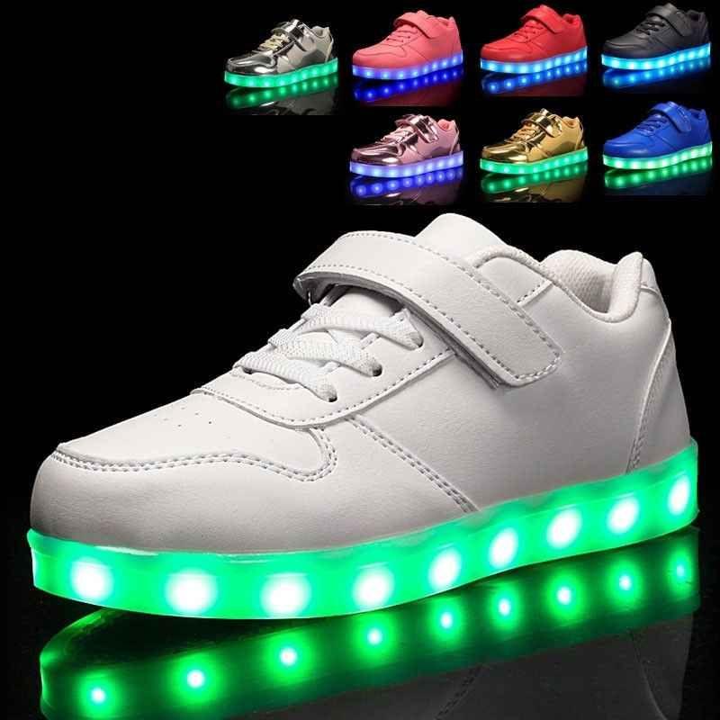 Girl Boys USB Charging LED Light Up