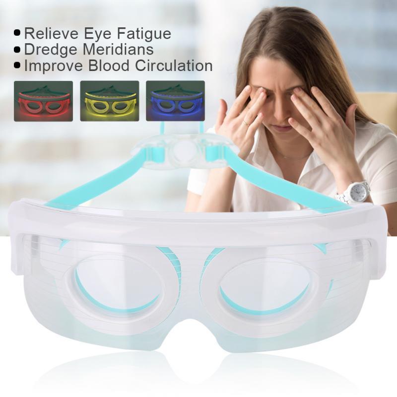 Neue USB Elektrische Augenmassagegerät Photon Verjüngung LED Phototherapie Heizungstherapie Massage Schutzbrille Anti-falten Augenpflege