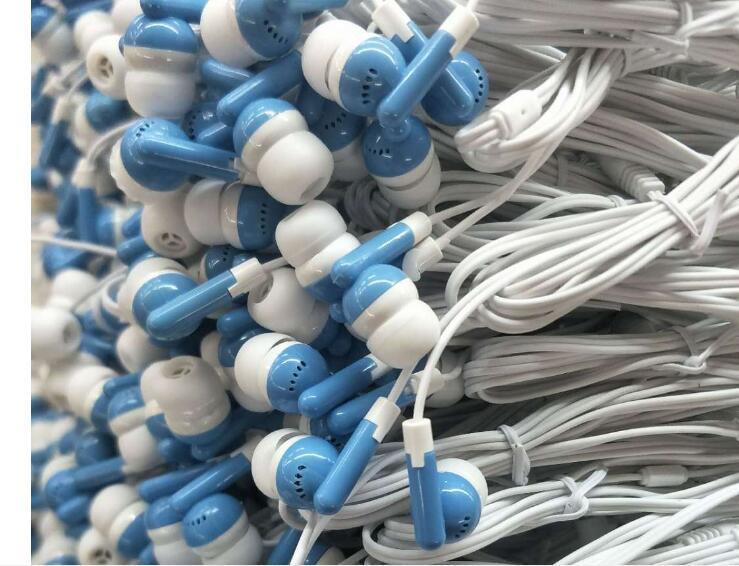 Dê-away fone de ouvido estéreo barato de ouvido para MP3 player / MP5 ou celular ou Tablet PC ou presentes do computador para a empresa