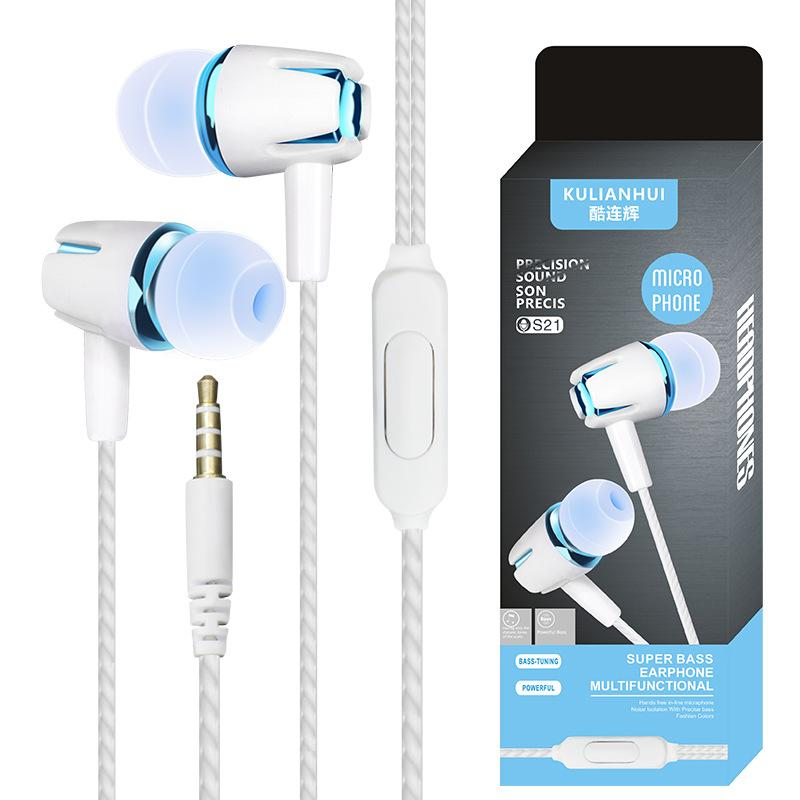 Superior Stereo Sound Quality Headphones with Mic Apple iPhone Samsung US Lot