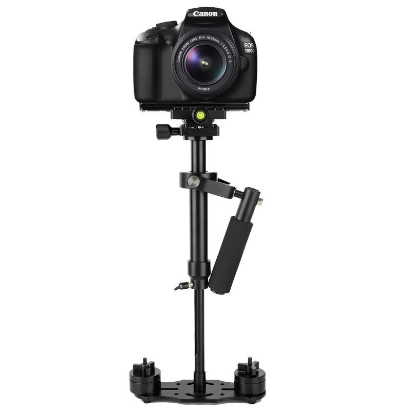 Lightdow S40/S60 Aliminum Alloy Professional Handheld Stabilizer Steadicam Camera Bracket Holder for Canon Nikon Sony Pentax Fuji Cameras