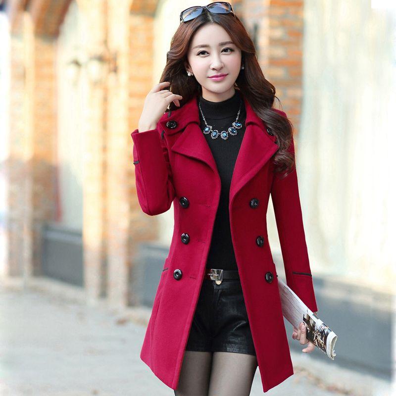 Manteau d'hiver Femmes Manteau long Trench pour les femmes Taille Plus CASACO Vêtements 2019 sobretudo Feminino abrigos mujer Invierno