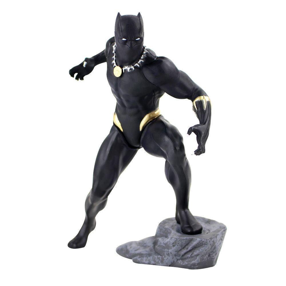 17.5cm action Marvel Avengers Figure Panther Toys Kotobukiya Artfx Statue pré-peint Modèle Kit Modèle PVC