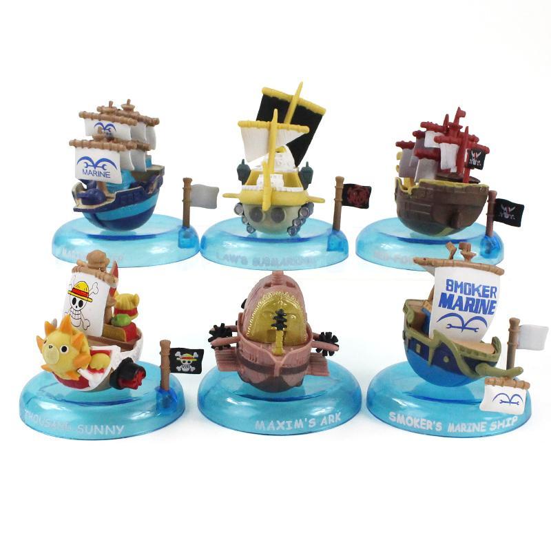 Япония аниме косплей One Piece Тысяча Солнечный Going Merry пиратский корабль пиратский лодка ПВХ Действие Рисунок Модель Игрушки