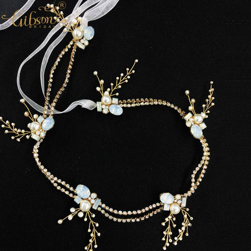 Exquisite Bridal Hair Vine Accessories Rhinestone Claw Chain Wedding Headpiece Jewelry Forehead Headband