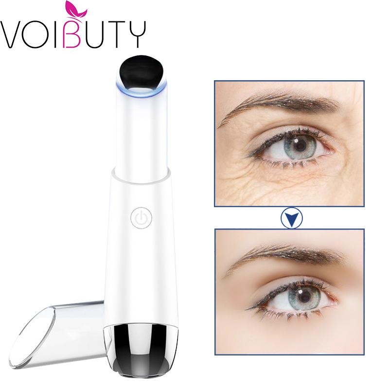 Electric Dark Circles Pouch Magic Stick Magnetic Heat Therapy Anti-aging Eyes Fine Lines Removal Massager Wrinkle Removal Wand