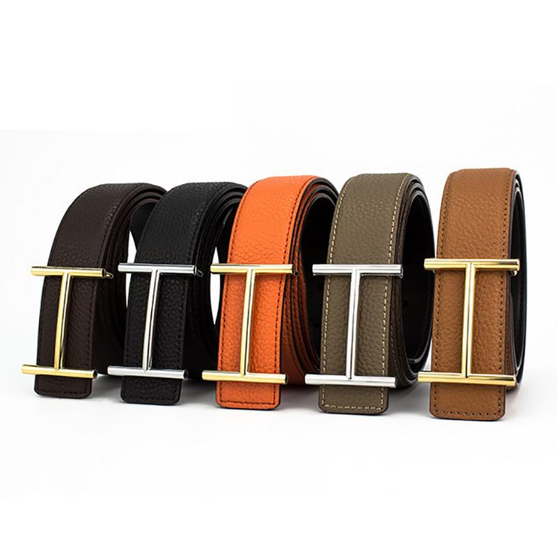 H Designer Fashion Belts for Mens Genuine Leather Male Women Casual Jeans Vintage Fashion High Quality Strap Waistband