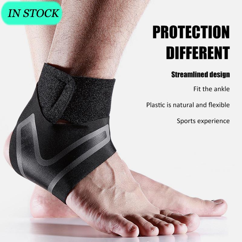 US Stock Adjustable Sports Elastic Ankle Brace Support Protector Foot Wrap Ankle Support Sports Safety Sportswear Sports LWT
