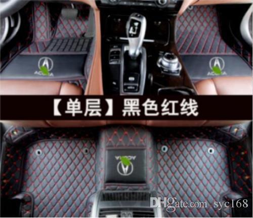 Acura MDX 2007-2017 araba paspas halı özel lüks otomobil mat türlü hava kat mat uygulanabilir