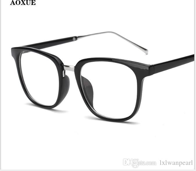 Korean version of ultra-light retro spectacle frame for men and women trend myopic spectacles frame flat glasses