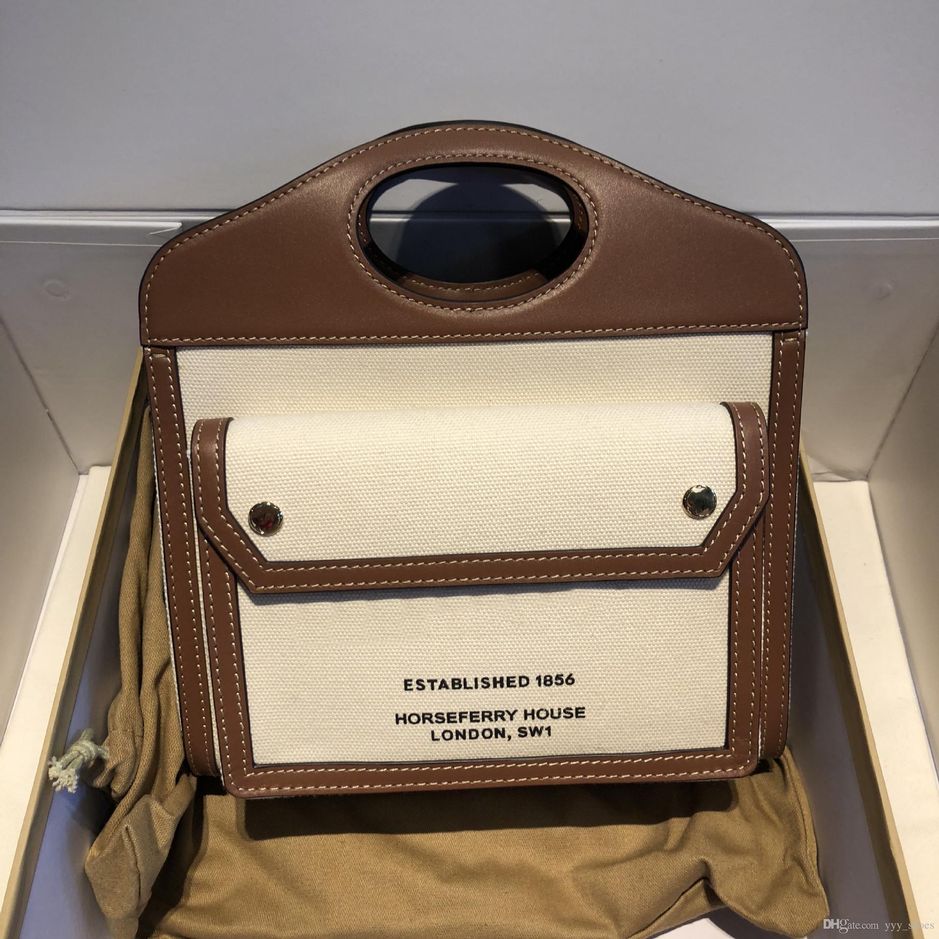 bolsa de bolsillo de la manera mujeres famosas del monedero del bolso de la lona del bolso de hombro crossbody totalizador del envío gratis