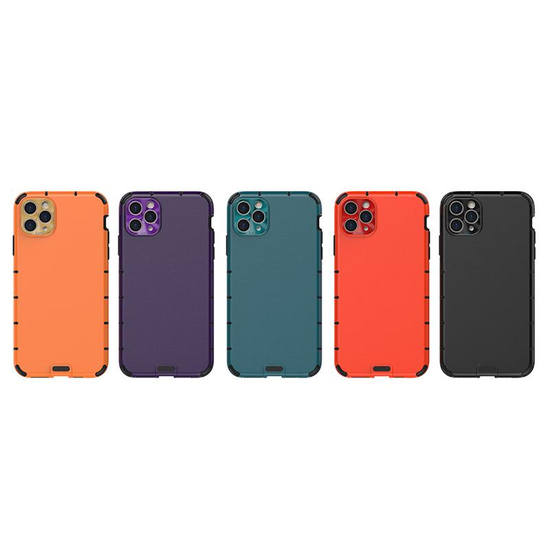 Imitation Leather Texture Phone Case For iPhone 11 Pro MAX XS XR X Anti-drop Soft TPU Protective Shockproof Cover