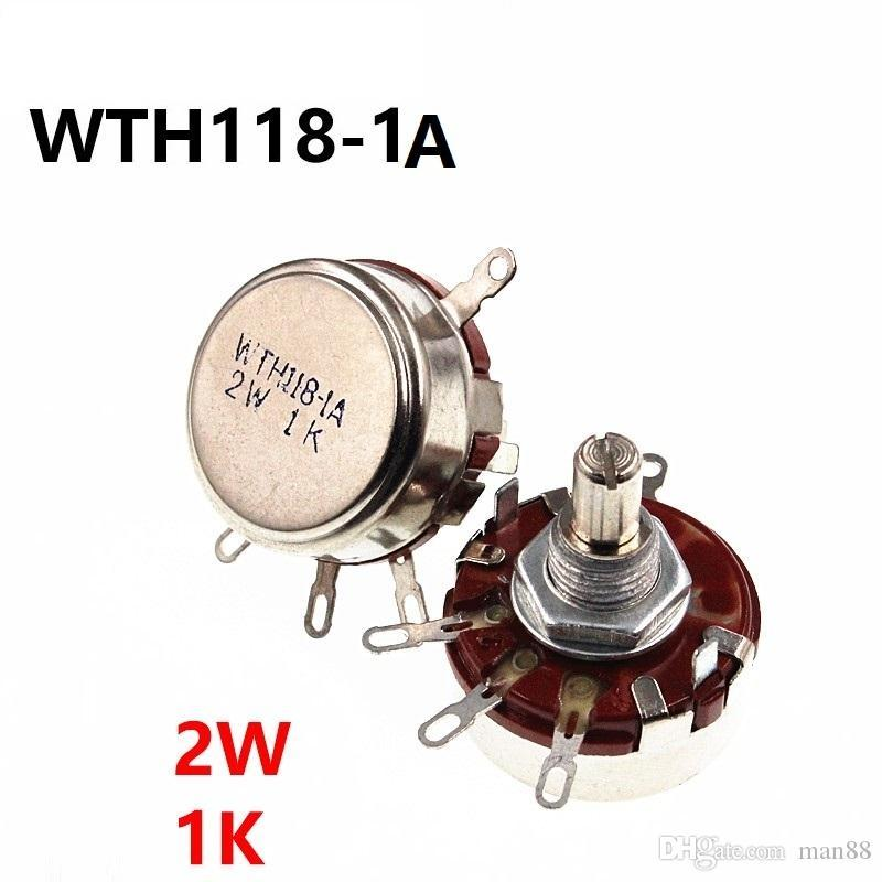 WTH118 2W 1K single turn carbon film potentiometer