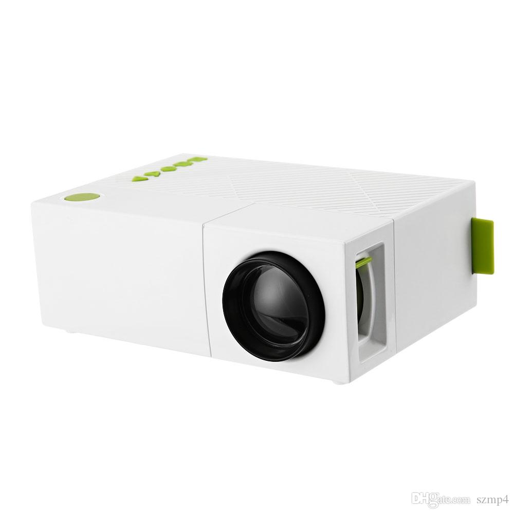 YG310 Mini Projector High Resolution 1080P LCD LED Projection 400-600Lum Audio AV Smart Home Cinema Theater Video Projector