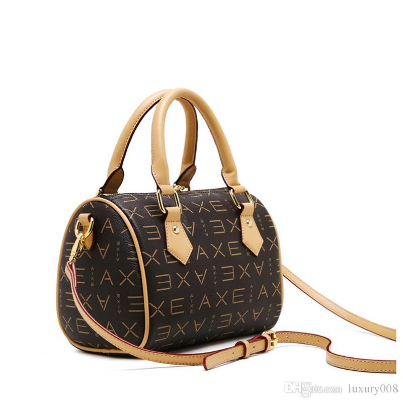 Old Cobbler VI Date code Модернизированная версия Spee dy Женская сумка высочайшего качества Различные цвета Наклонная наплечная сумка с покрытием Холст Сумки