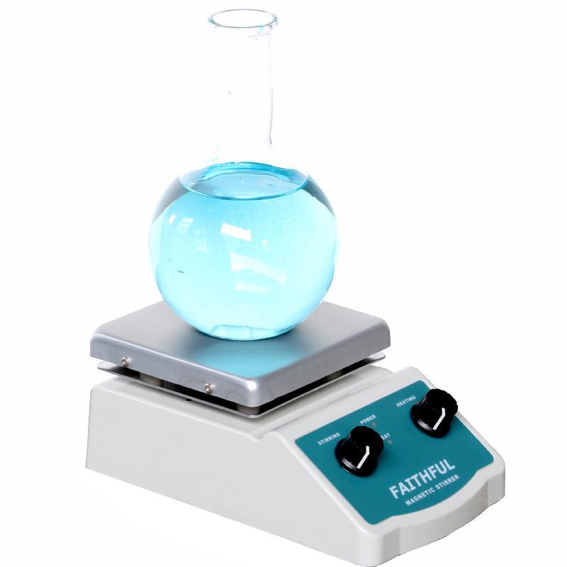 SH-2 Laboratuvar Manyetik Karıştırıcı ile Isıtma Blender karıştırıcı Sıcak Plaka Manyetik Karıştırma Çubuğu ile 220 V / 110 V
