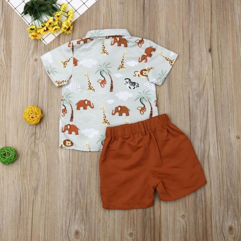 신사 복장 유아 신생아 아기 여름 정장 의류 세트 활 웨딩 생일 소년 전반적으로 정장 화이트 장난 꾸러기 셔츠