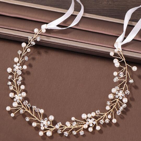 2019 calientes fabricantes europeos y americanos joyería de la boda joyería del vestido del diamante accesorios nupciales del pelo de ventas directas