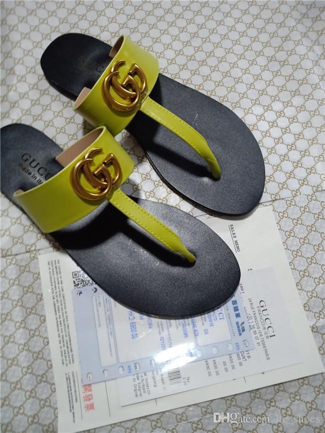 String en cuir sandale mode de luxe Livraison gratuite sandales Designer chaussures de mode avec boîte les plus grands escomptes hommes