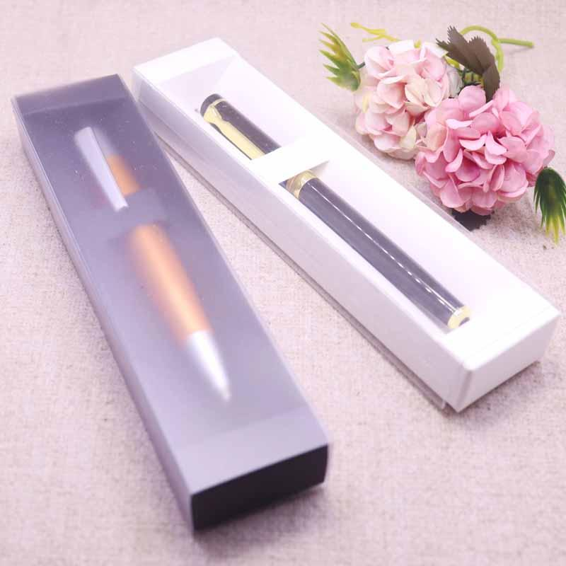 Neue DIY Weiß Schubbox 3 Farbe löschen Fenster Kosmetik-Geschenk-Kasten-Feder-Aquarell, Eyeliner Neuheit-Entwurf