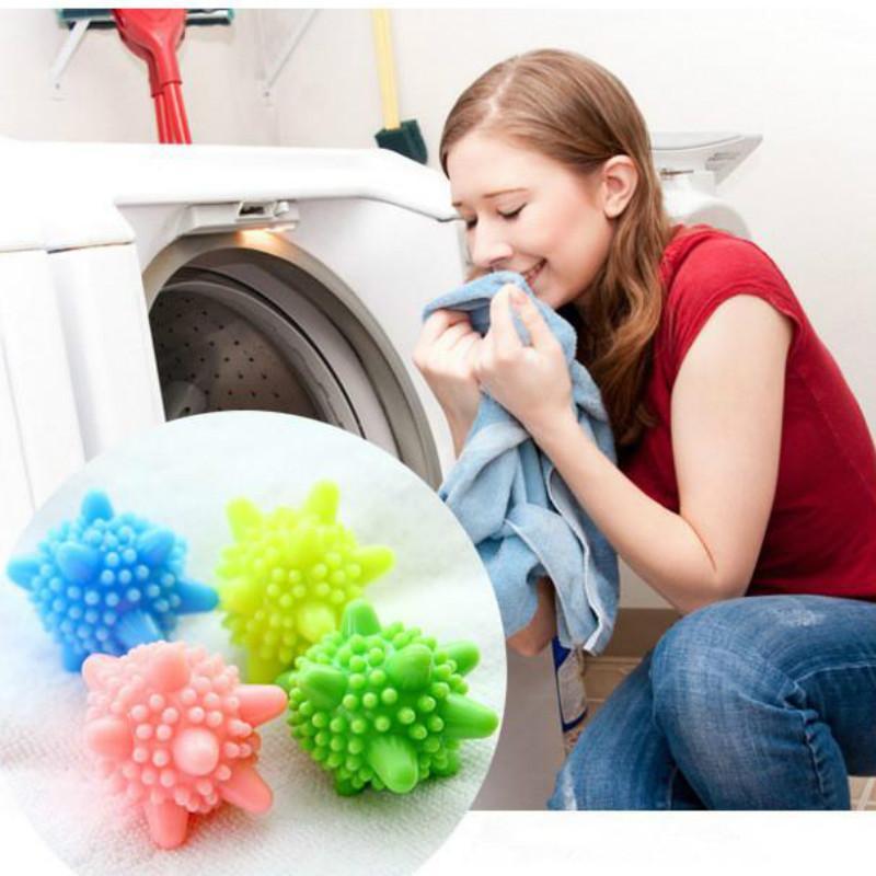 Magia Sólidos lavagem Balls Moda Limpeza Silicone Cor Lavandaria Bola Secagem Bola Limpeza Bola Anti-wrap Proteção lavar a roupa por atacado